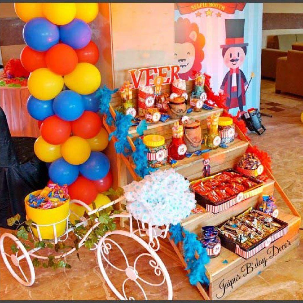 JBD birthday decor
