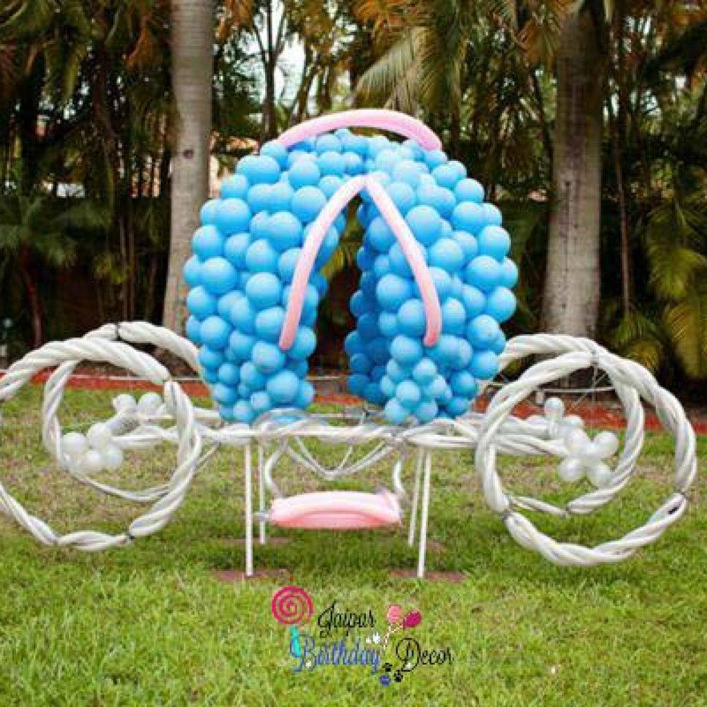 cinderella chariot balloon