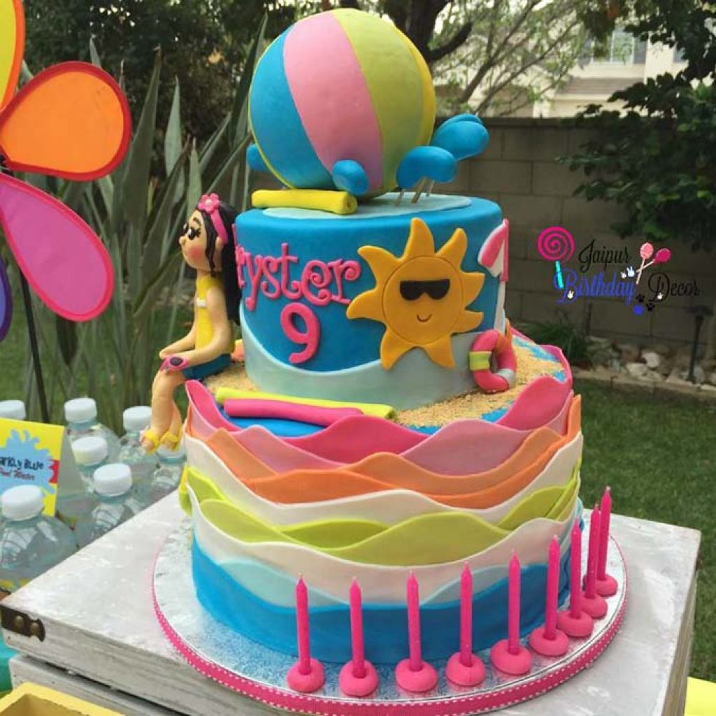Pool Party Themes Decoration